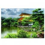 Puzzle 2000 pièces - Le pavillon d'or, Kyoto