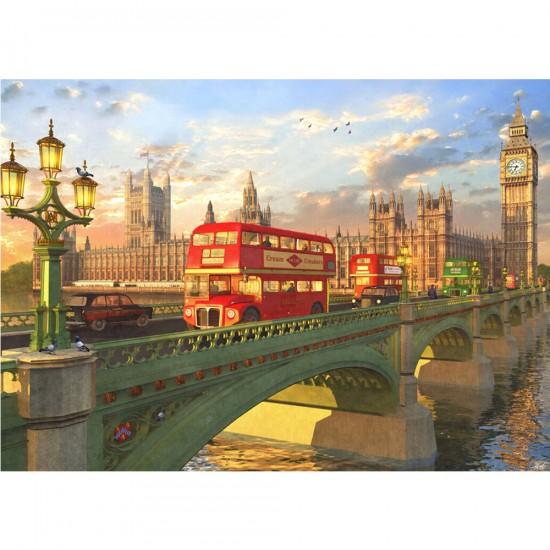 Puzzle 2000 pièces : Westminster, Londres - Educa-16777