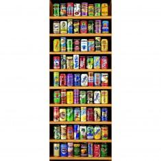 Puzzle 2000 pièces - Vertical - Canettes