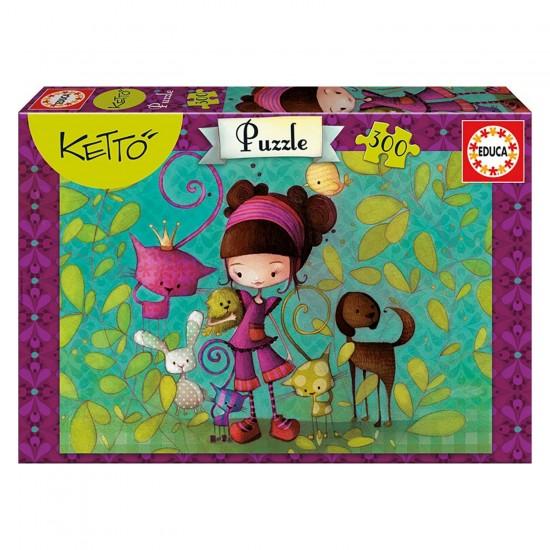 Puzzle 300 pièces : Poupée Ketto - Educa-16814