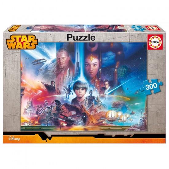 Puzzle 300 pièces : Star Wars : La Menace Fantôme - Educa-16166