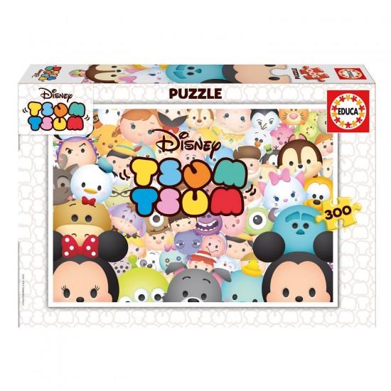 Puzzle 300 pièces : Tsum Tsum Disney - Educa-16863