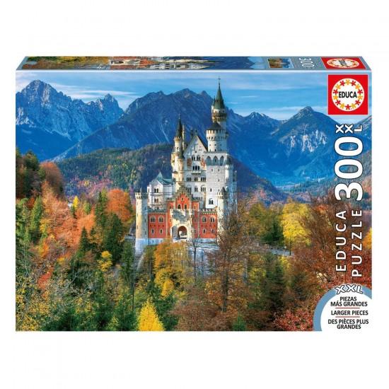 Puzzle 300 pièces XXL : Château De Neuschwanstein - Educa-16744