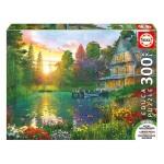 Puzzle 300 pièces XXL : Coucher de Soleil avec Papy