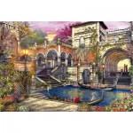Puzzle 3000 pièces : Romance à Venise