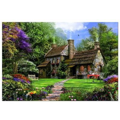 Puzzle 3000 pi ces dominique davidson la maison en for A la maison de pierre et dominique montreal