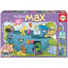 Puzzle 48 pièces : 8 en 1 : l'arche de Noé
