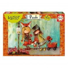 Puzzle 500 pièces : Adèle, Ketto
