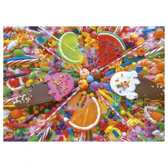 Puzzle 500 pièces : Bonbons - Educa-16271
