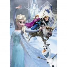 Puzzle 500 pièces : Frozen