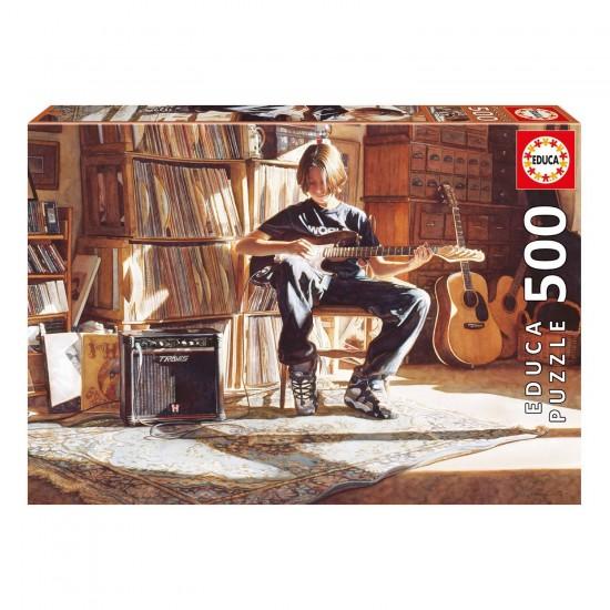 Puzzle 500 pièces : It's His Time Now - Educa-16733