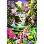 Puzzle 500 pièces : la cascade des fées