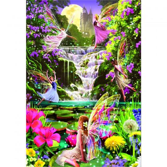 Puzzle 500 pièces : la cascade des fées - Educa-15515