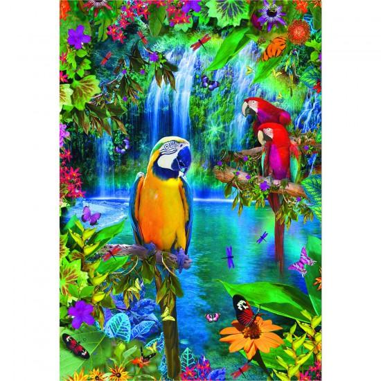 Puzzle 500 pièces : Paradis tropical - Educa-15512