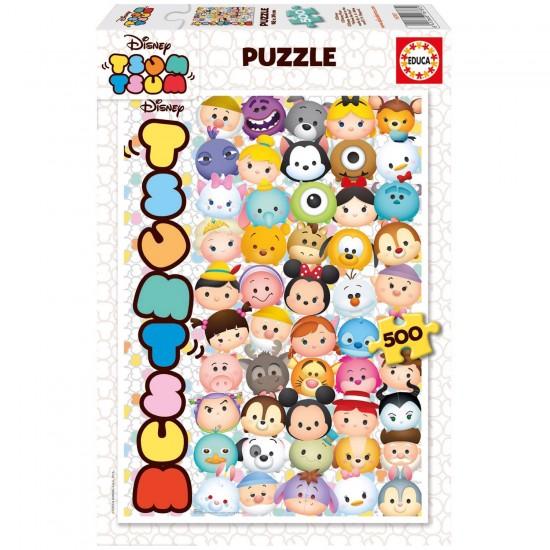 Puzzle 500 pièces : Tsum Tsum Disney - Educa-16787