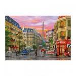 Puzzle 5000 pièces : Dominique Davison : Rue à Paris