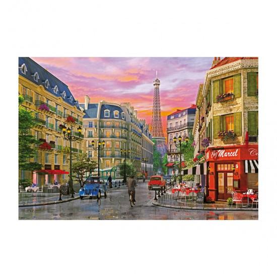Puzzle 5000 pièces : Dominique Davison : Rue à Paris - Educa-16022