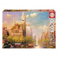 Puzzle 6000 pièces : Après-midi à New-York