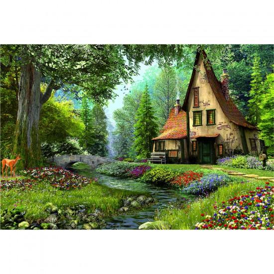 Puzzle 6000 pièces : Maison de livre de contes - Educa-15543