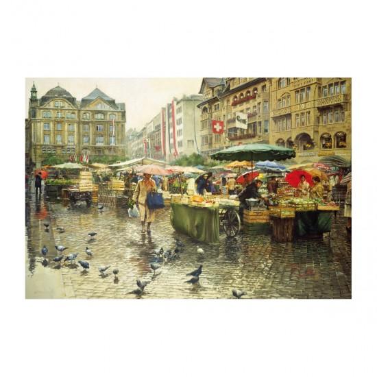 Educa Puzzle 6000 Pi Ces March De B Le Suisse Rue Des Puzzles