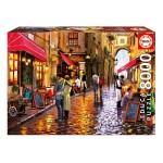 Puzzle 8000 pièces : Rue des cafés