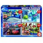 Puzzle de 50 à 150 pièces : 4 puzzles : Pixar