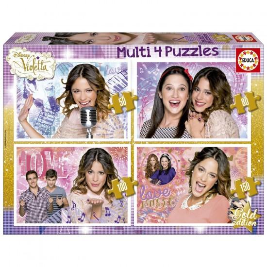 Puzzle de 50 à 150 pièces : Violetta - Educa-16190