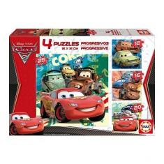 Puzzle progressif - Cars 2