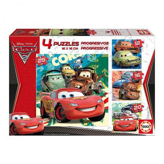 Puzzle progressif - Cars 2 - Educa-14942