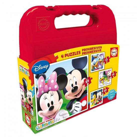 Puzzle progressif 12 à 25 pièces : Mickey et ses amis - Educa-16505