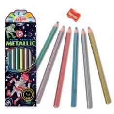 Crayons métalliques : Robots