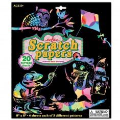Loisirs créatifs : Scratch Paper : Ardoise Magique colorée