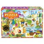 Puzzle 42 pièces : Mystère dans la forêt