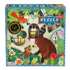 Puzzle 64 pièces : Arbre d'anniversaire
