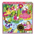 Puzzle 64 pièces : Les bonnes fées autour de l'étang