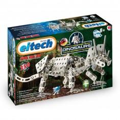 Construction mécanique : Dinosaure Triceratops