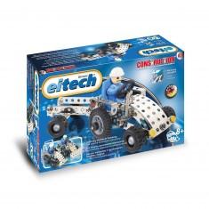 Construction mécanique : Mini tracteur et remorque