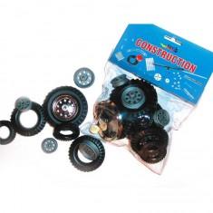 Set complémentaire pour construction mécanique : Jantes et pneus