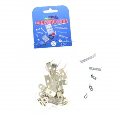 Set complémentaire pour construction mécanique : Set d'équerres en métal