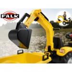 Accessoire pour Tracteurs à pédales  Excavatrice jaune