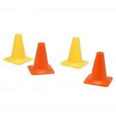 Ensemble 4 cônes de chantier