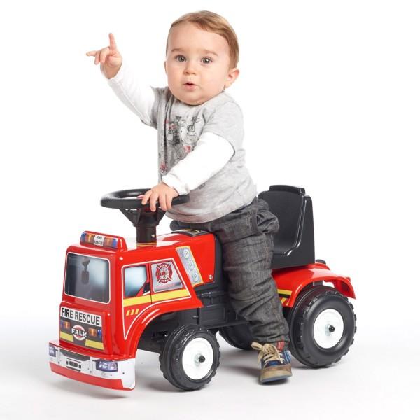 porteur camion de pompier jeux et jouets falk falquet. Black Bedroom Furniture Sets. Home Design Ideas