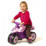 Porteur moto princesse