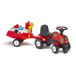 Porteur tracteur Baby Power Master avec remorque et accessoires