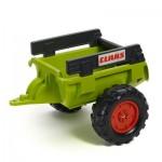 Remorque de tracteur Claas verte