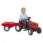 Tracteur à pédales avec remorque Farm Mustang