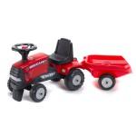 Tracteur Case IH CVX 120 + Remorque (sans pédales)