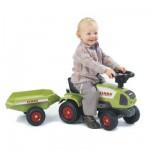 Tracteur Claas Celtis RX + Remorque (sans pédale)