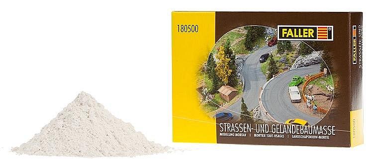 Matériel de modélisme - Pâte mastic 500 g - Faller-180500