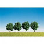 Modélisme : Végétation : Assortiment de 4 arbres